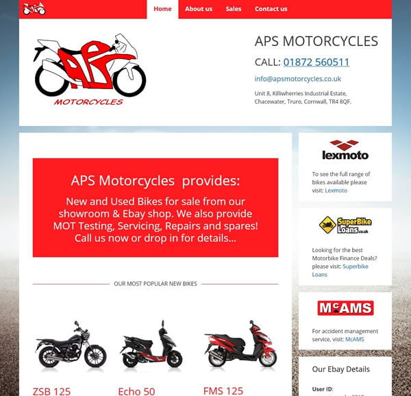 aps motorcycles